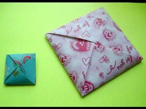 Упаковка конвертов своими руками