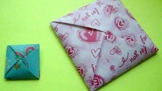 Как сделать конверт из бумаги для диска, денег своими руками(, 2014-07-11T14:40:13.000Z)