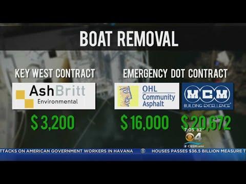 Exclusive: Debris Debacle In Keys After Gov. Scott Issues Emergency DOT Contract