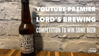 The Drunken Tailor Pilsner | Lord's Brewing Co.