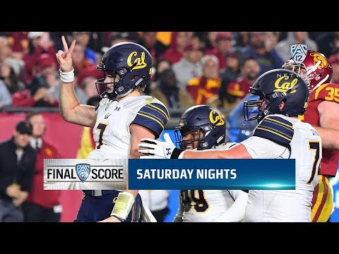 Pac-12 football scores, highlights for Week 11: Cal snaps 14-game losing streak to USC