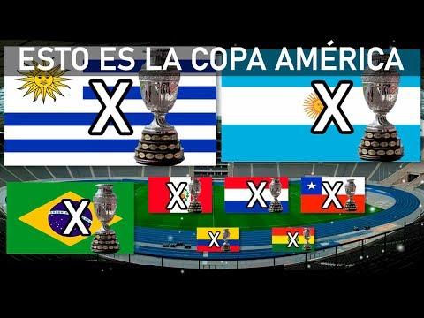 Los Campeones de la Copa Amrica 1916-2019
