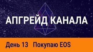Закупка EOS (Эос), изменения на канале, курс биткоина