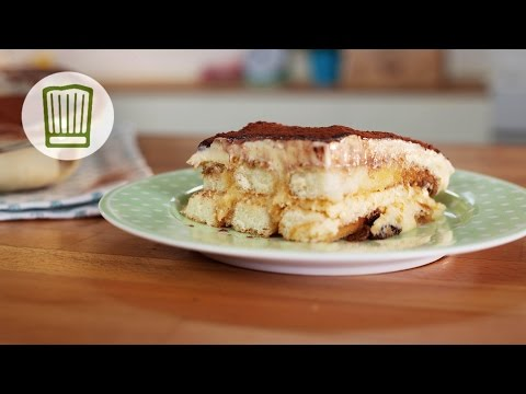 Tiramisu - italienisches Dessert bei Rikes Backschule #chefkoch