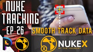 How to Apply Text and Smooth TRACK Data in Nuke X- NUKE KEYING Basic Fundamentals-EP 26 [HINDI]