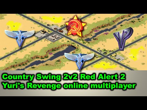 Country Swing 2v2 Red Alert 2 Yuri's Revenge online multiplayer