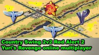 Country Swing 2v2 Red Alert 2 Yuri's Revenge online multiplayer