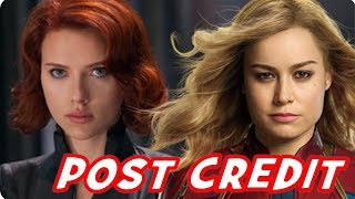 Captain Marvel Ending & Post Credit Scenes: Easter Eggs & Avengers Endgame Teaser Theory!!!