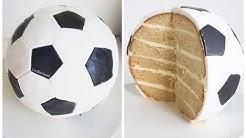 Fußballtorte 3D / WM Fußballmotivtorte / Footballcake