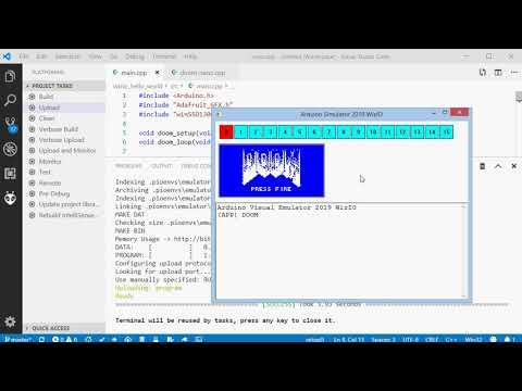 A Doom-esque Port To The ATmega328 | Hackaday
