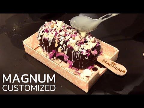 MAGNUM Ice Cream | Instant customized Vanilla & Chocolate Ice Cream Creamsicles | MAGNUM NY