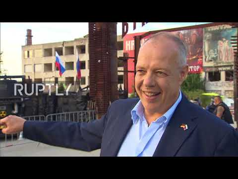 Russia: German politicians meet with Night Wolves leader ahead of Crimea bike show