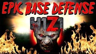 Epic Base Defense in H1Z1 (Base Raid) PvP Server
