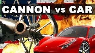 Repeat youtube video Cannon vs Car in Slow Motion: The Breakdown -- RatedRR: Assassin's Creed 3