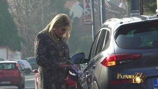 Suzana Mancic zamenila automobil