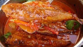 How to make fried mackerel tomato sauce Lao food ເຊອມປາທຊບແປງທອດ