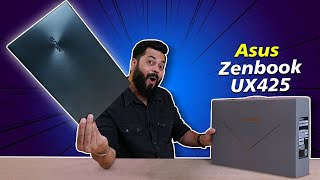 Asus Zenbook 14 UX425 Unboxing & First Impressions ⚡⚡⚡ Premium, Portable & Powerful