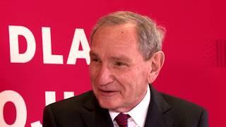 Dr George Friedman - wywiad podczas Forum Prawo dla Rozwoju