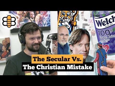 The Secular Vs. The Christian Mistake