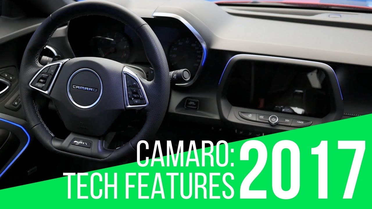 2017 Chevrolet Camaro Tech Features