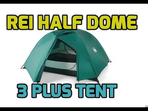 REI Half Dome 3 Plus Tent & Footprint (3+) - 21:9 Cinematic HD