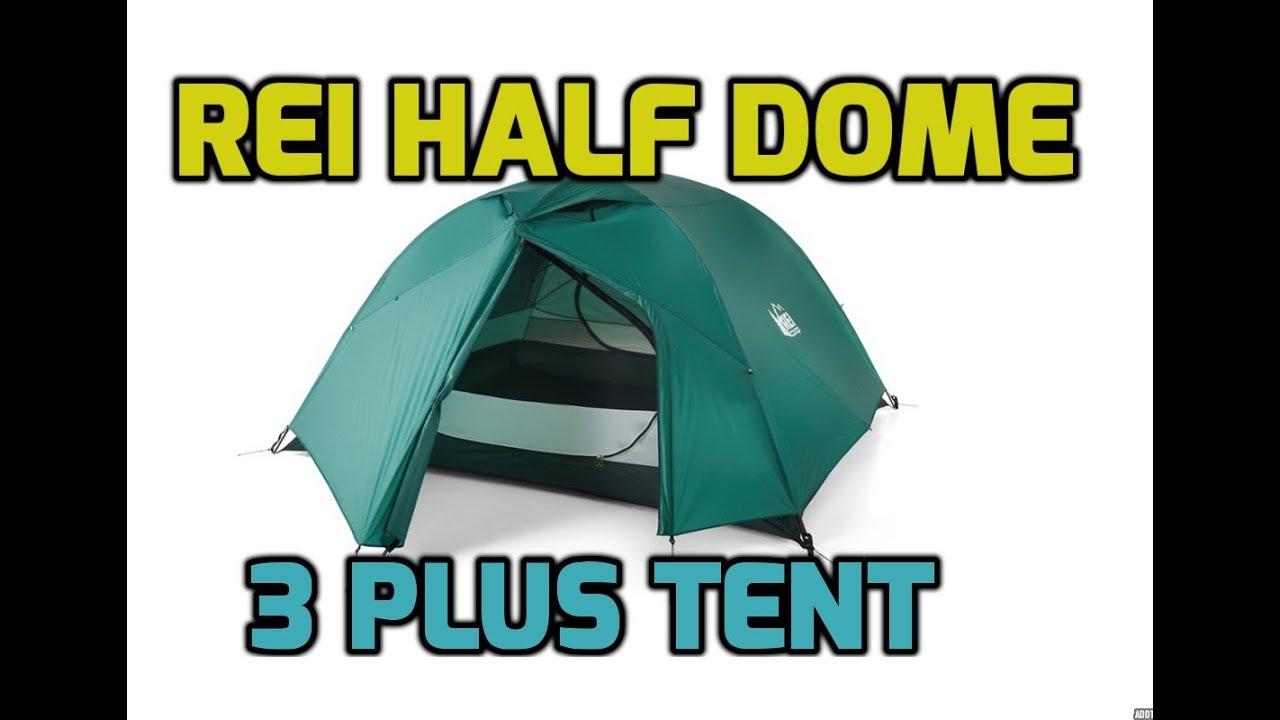 REI Half Dome 3 Plus Tent u0026 Footprint (3+) - 219 Cinematic HD  sc 1 st  YouTube & REI Half Dome 3 Plus Tent u0026 Footprint (3+) - 21:9 Cinematic HD - YouTube