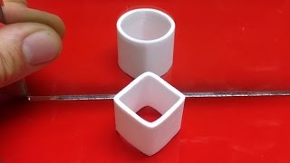 Ambiguous Cylinder Illusion // How it Works by : Make Anything // 3D Printing Channel