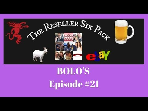 The Reseller Six Pack #21 Bolo's