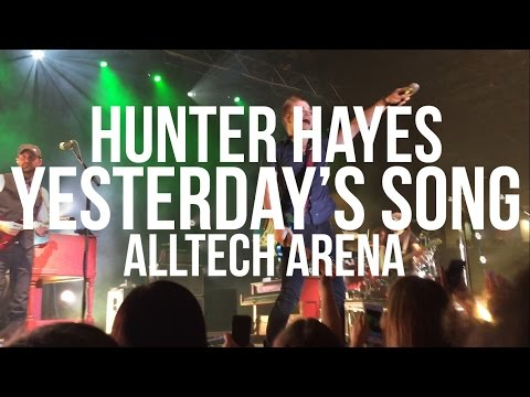 Yesterday's Song - Hunter Hayes - 4.30.16