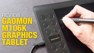 Review: Gaomon M106K Graphics Tablet