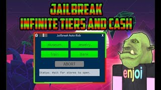 Roblox: Jailbreak Infinite MONEY,TIERS AND MORE AFK SCRIPT