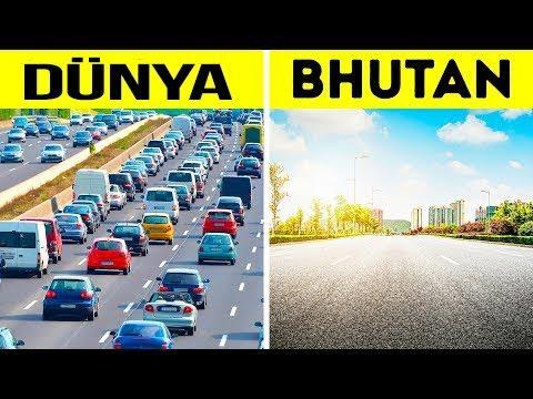 Dünyanın En Huzurlu Ülkesi BHUTAN ; Trafik Yok, Sağlık Ücretsiz, Evsiz İnsan Yok