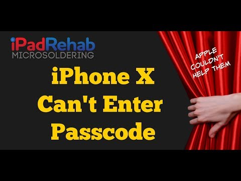 Can't Enter Passcode