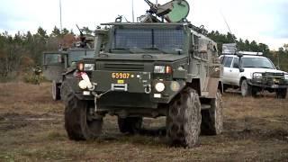 Afghanistanstyrkan FS20 övar på Gotland