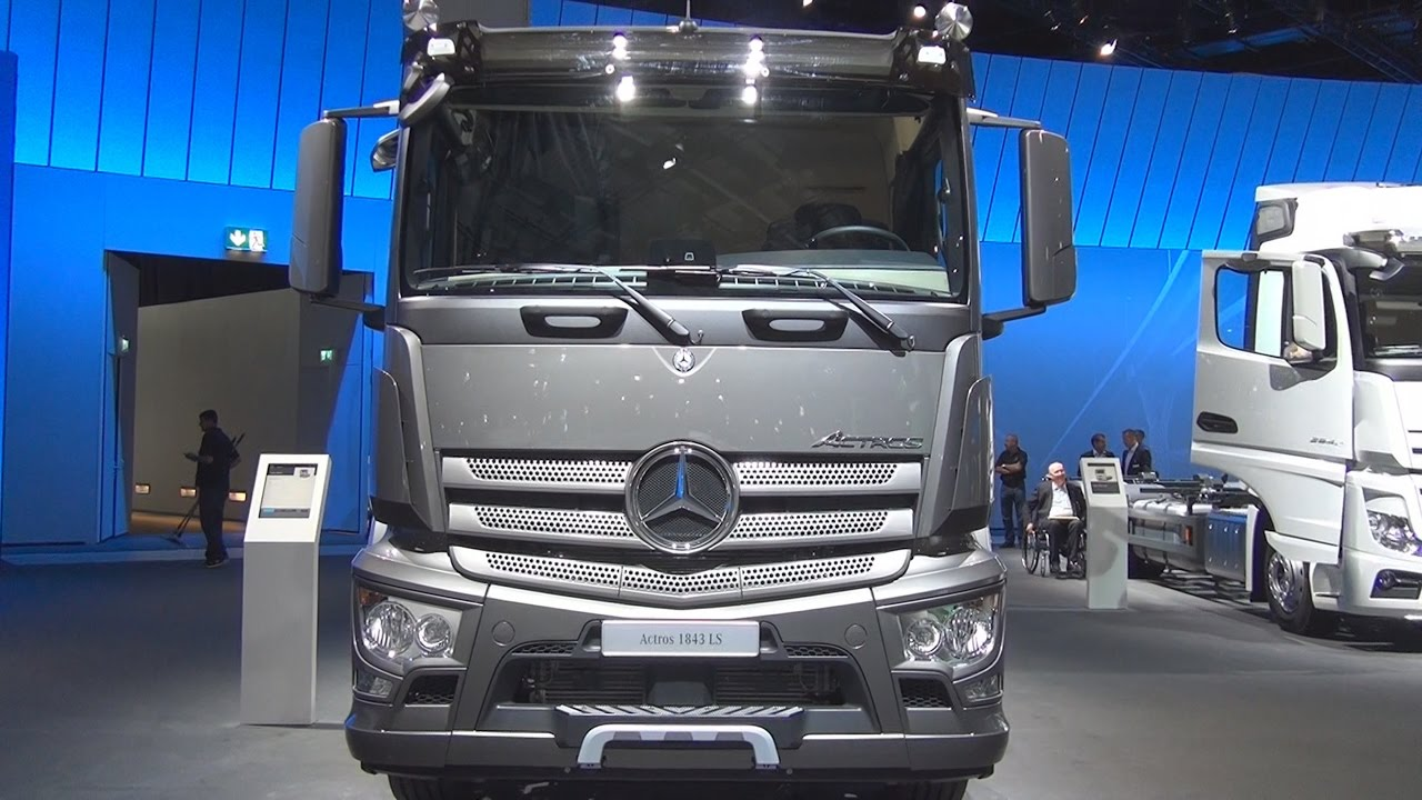 Mercedes Benz Actros 1843 Ls Tractor Truck 2017 Exterior And