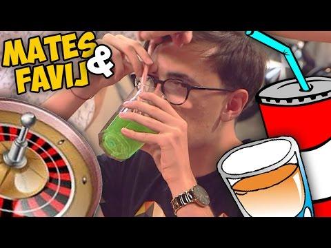 DRINK ROULETTE CHALLENGE | MATES & FAVIJ