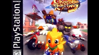 Gambar cover Amazing PS1 Game : Chocobo Racing