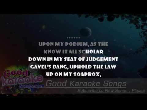 Holy Wars ...The Punishment Due -  Megadeth (Lyrics Karaoke) [ goodkaraokesongs.com ]