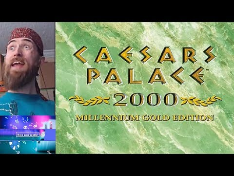 Video Game Gambler - Caesar's Palace 2000 Millenium Gold Edition (PSX)