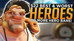 Overwatch: BEST and WORST Heroes with NO HERO POOLS! - Season 22