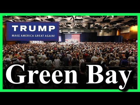 LIVE Donald Trump De Pere Wisconsin Green Bay Rally St. Norbert's College Walter Theatre SPEECH HD ✔