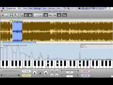 Music Lesson: Transcribe! - Software zum Raushören TOP!