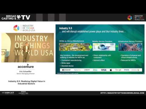 Industry of Things World USA 2017   Accenture