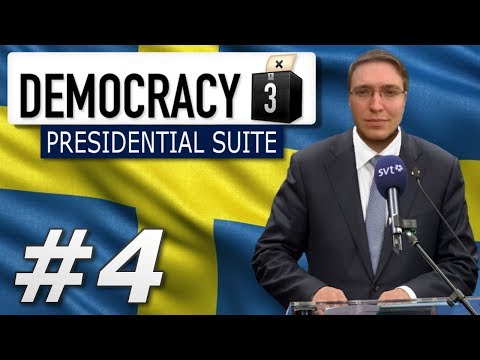 Democracy 3: Presidential Suite | Sweden  - Year 4