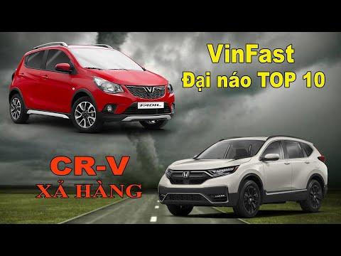 VinFast đại náo top 10 ô tô bán chạy nhất, Honda CR-V đại hạ giá đón bản lắp ráp