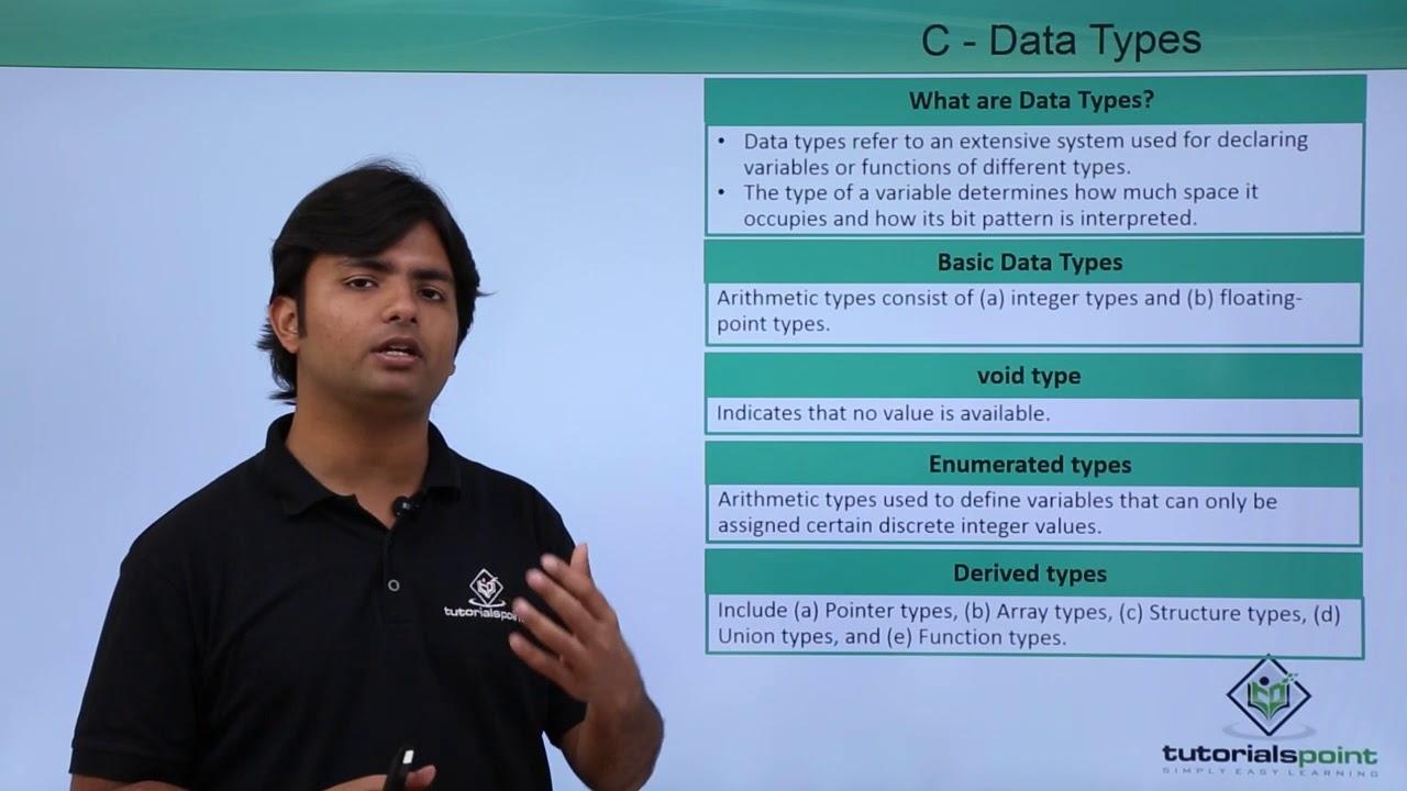 C data types youtube baditri Choice Image