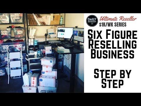 004: My Step by Step Six Figure Reselling Business (eBay, Amazon, Poshmark, Mercari)