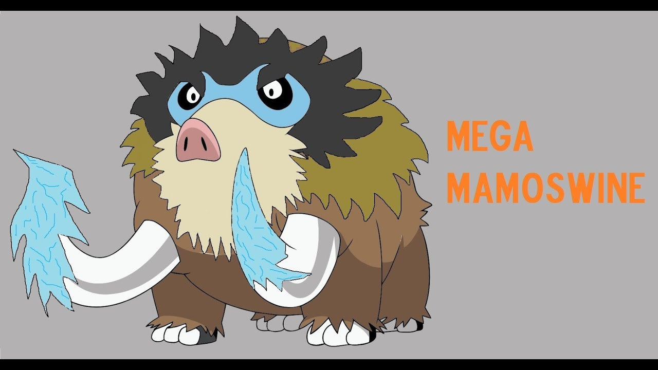 Image Gallery Mamoswine Evolution