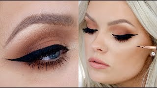One of Brianna Fox's most viewed videos: How To Apply Eyeliner - Hacks, Tips & Tricks for Beginners!