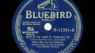1942 HITS ARCHIVE: Deep In The Heart Of Texas - Alvino Rey (Bill Schallen-Skeets Herfurt-band, voc) YouTube Videos